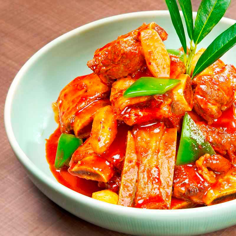 Spicy Galbi–Jjim