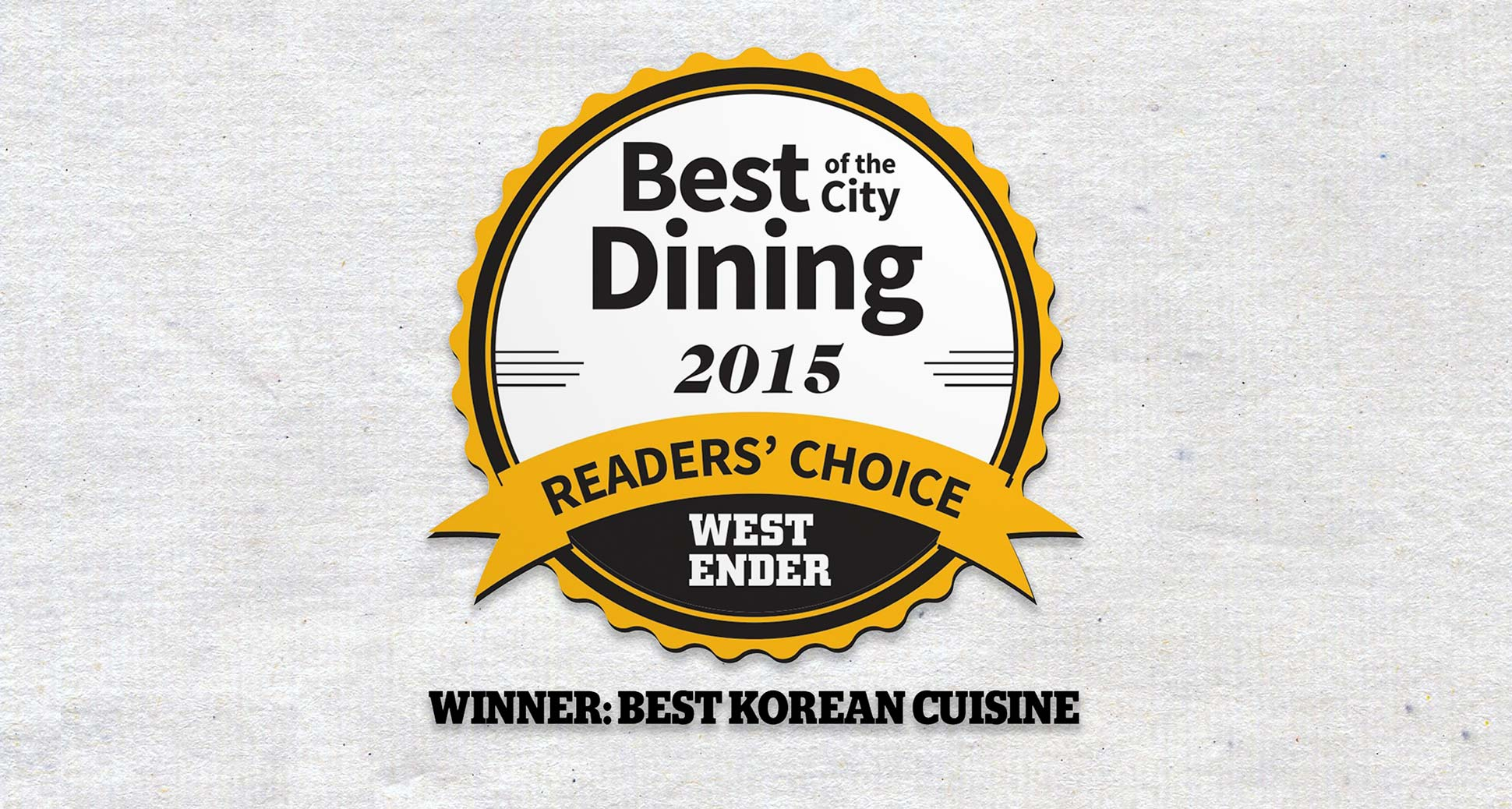 Sura is the best Korean winner of WE Vancouver's best of the city dining awards 2015