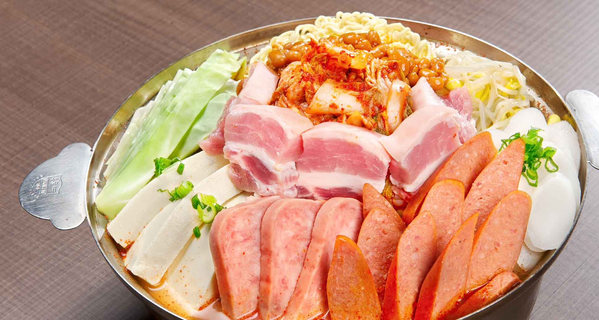 An introduction to the spicy, funky world of korean army hot pot