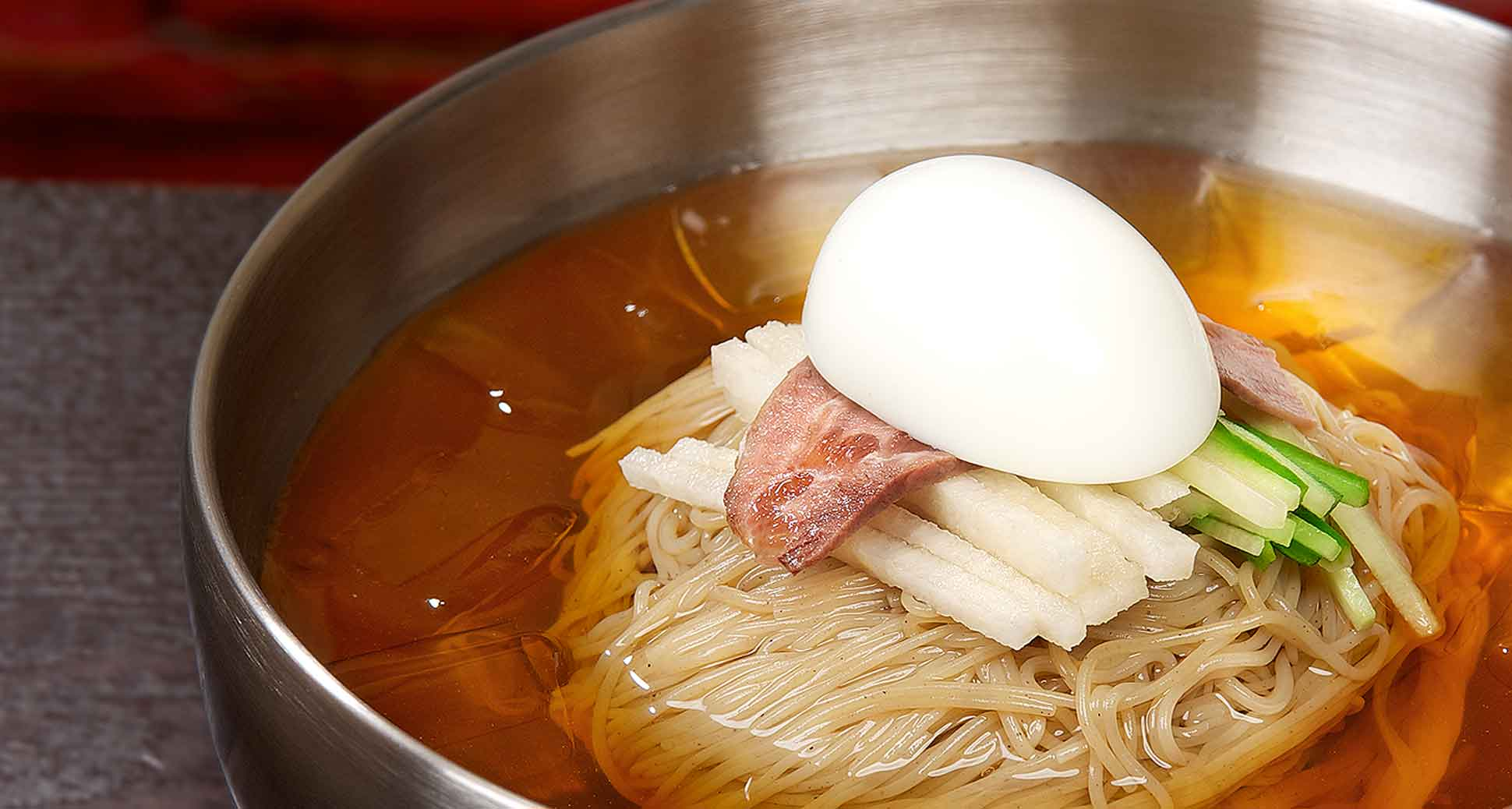 Naeng-myeon: For those sizzling hot Summer days