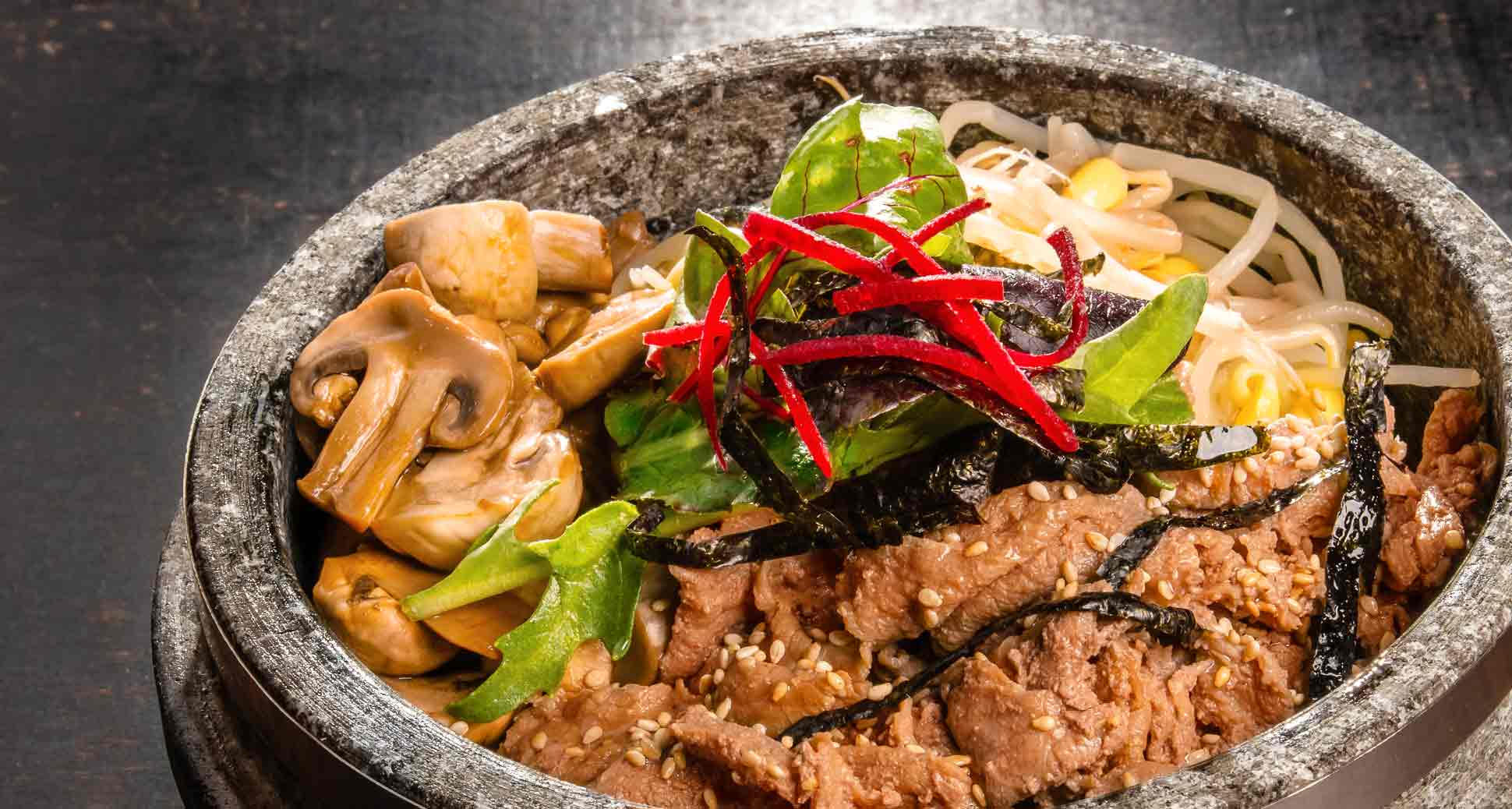 Stone Bowl Bulgogi Bibim-bap: Simple Yet Nutritious and Delicious