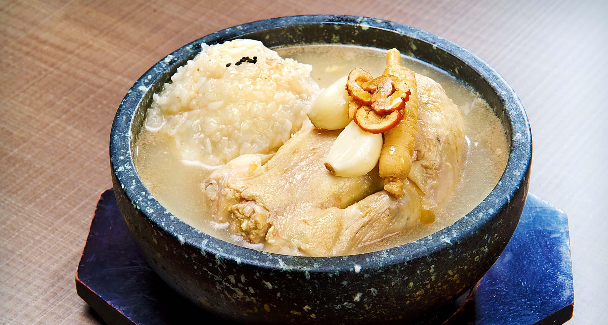 Best korean dish to cool you down: Samgye–tang
