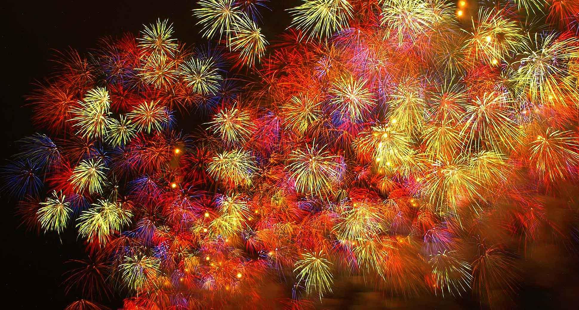 Celebrating vancouver fireworks 2015