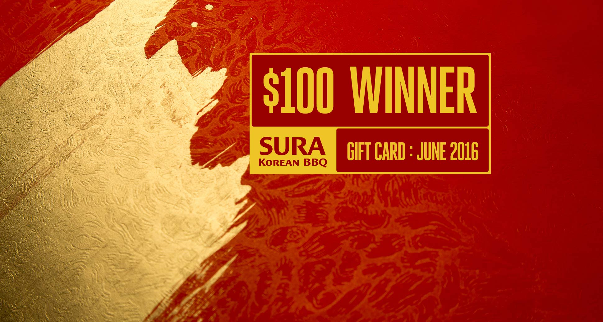 The winner of our June-2016 monthly draw for a $100 gift card is Sophy Hu!