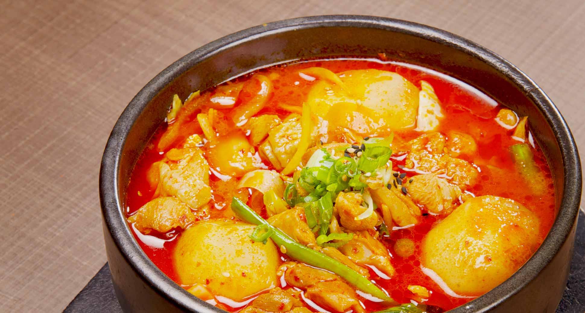 Spicy Korean Chicken Stew – Dak Dori Tang