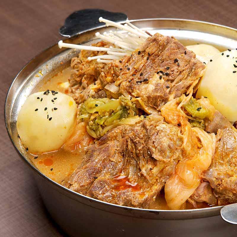 Pork Bone Hot Pot