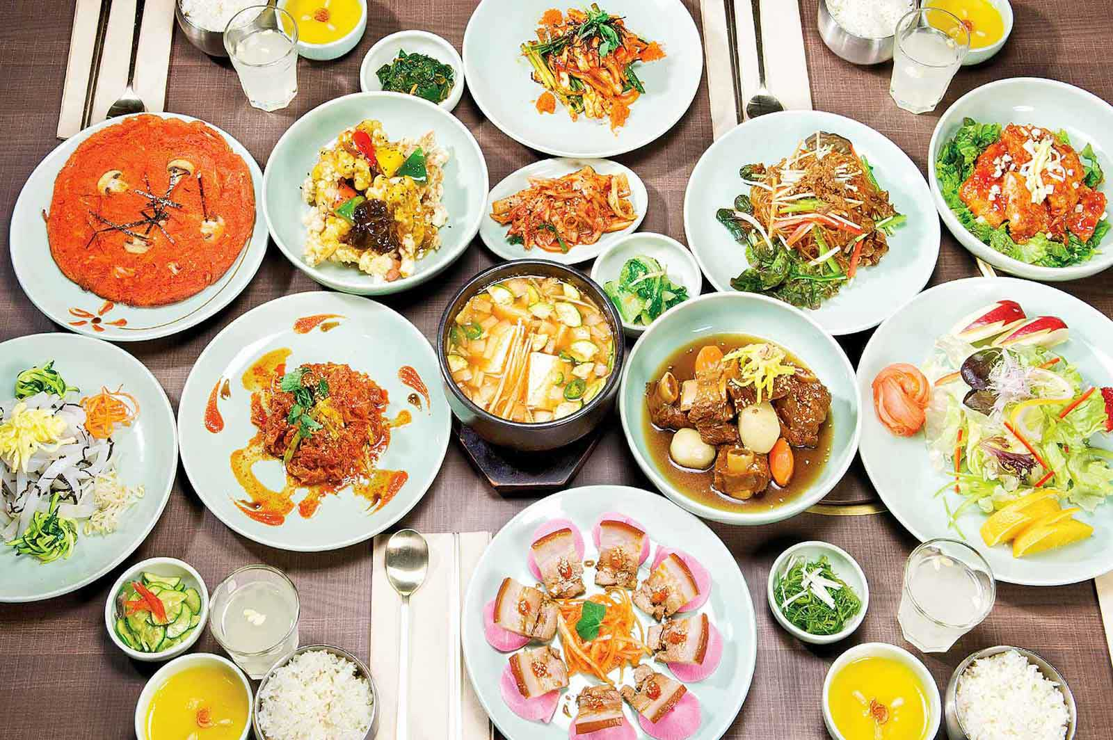 SURA Korean BBQ Restaurant | Menu | SURA Lunch Special ...