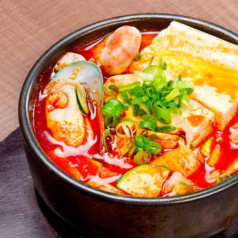 Soft Tofu Soup (Seafood / Beef)