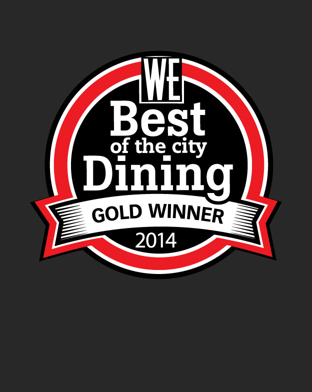 WE Vancouver's Best of the City Dining 2014