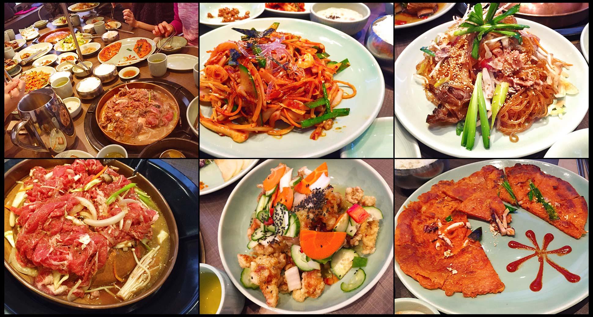 Lunch at Sura korean bbq richmond