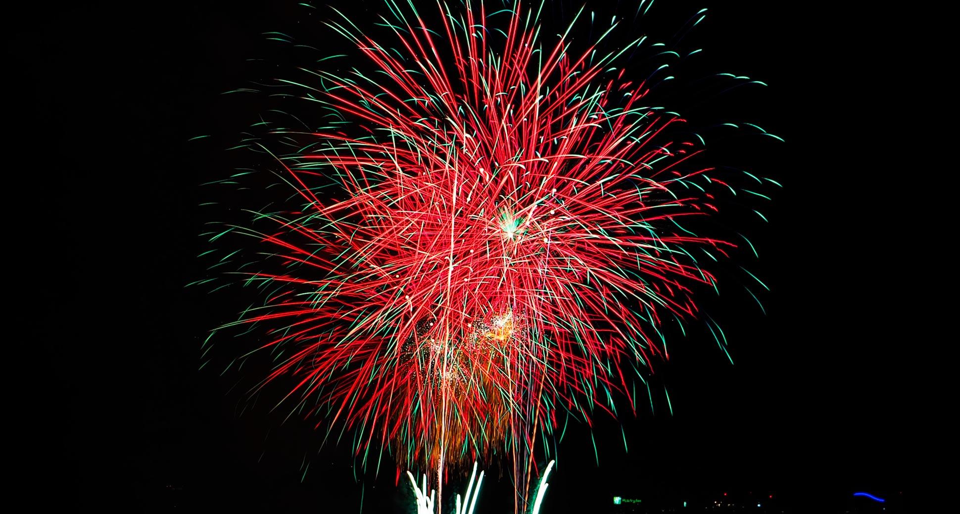 Celebrating vancouver fireworks 2016
