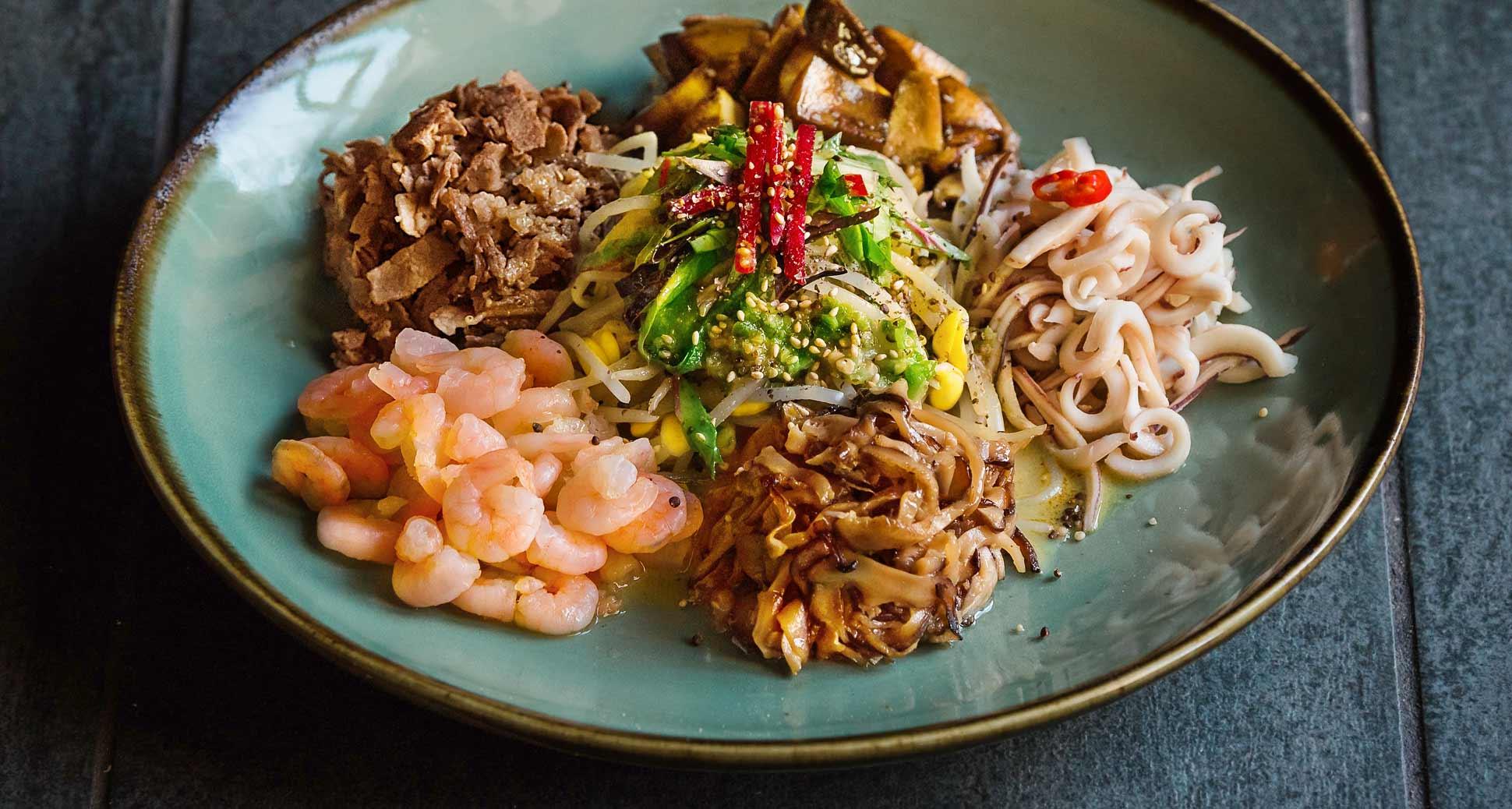 New menu alert: SURA soybean sprout salad!