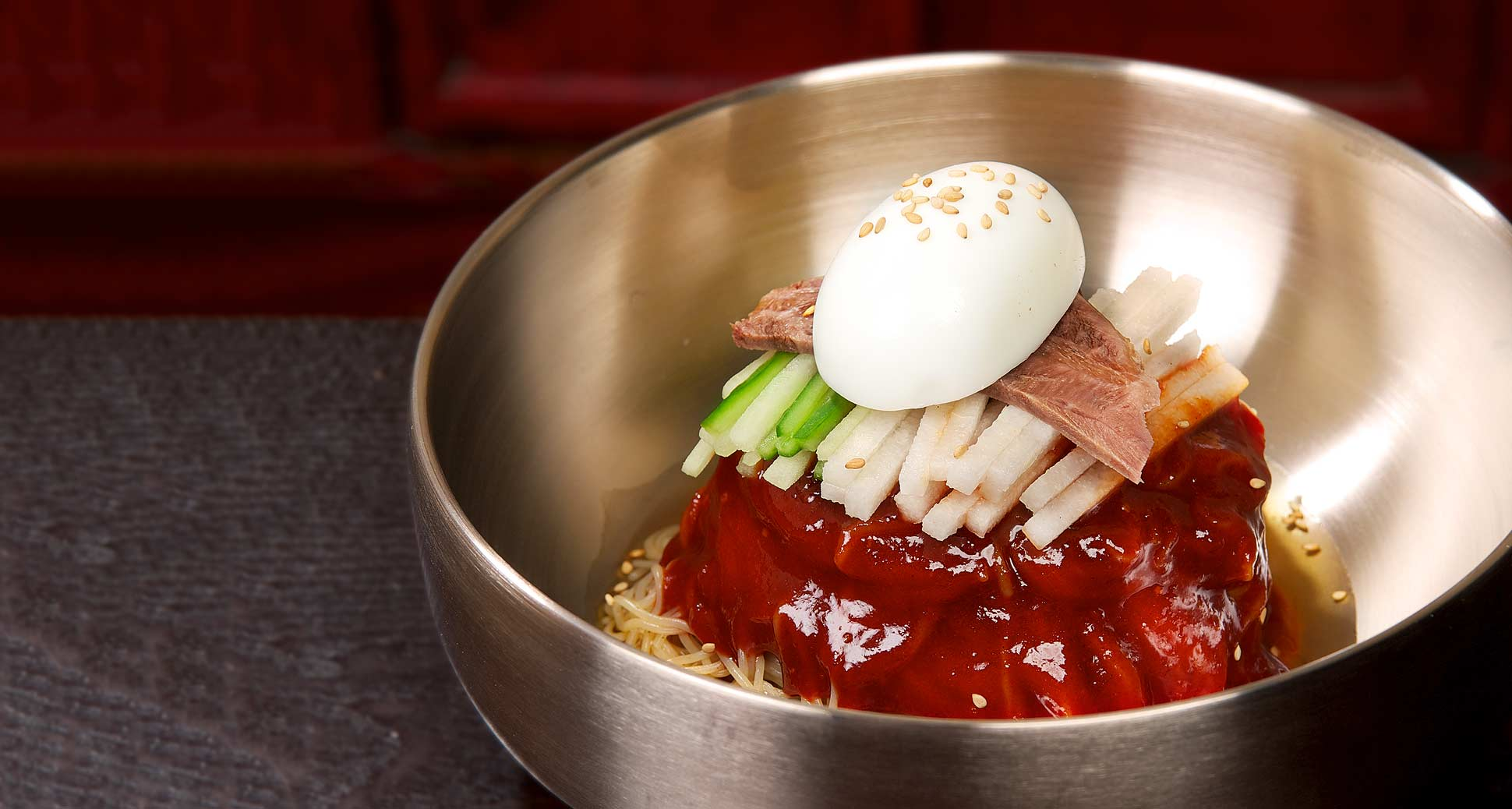 Naeng-Myeon, a great dish for this glorious Summer season