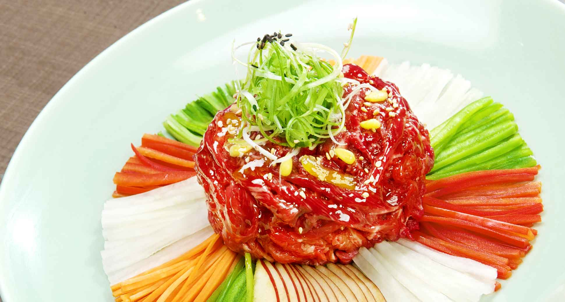 Korean Beef Tartare: For meat lovers, Love at First Bite